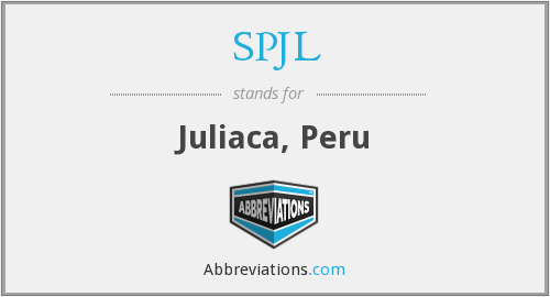What does SPJL stand for?