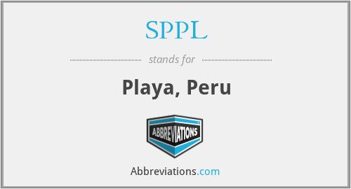 SPPL - Playa, Peru