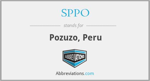 SPPO - Pozuzo, Peru