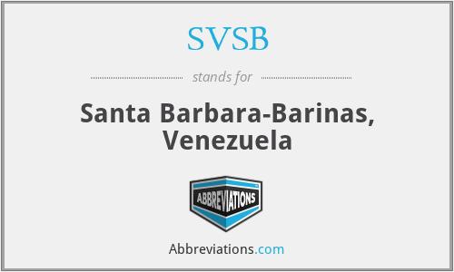 SVSB - Santa Barbara-Barinas, Venezuela