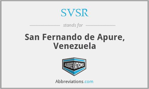SVSR - San Fernando de Apure, Venezuela