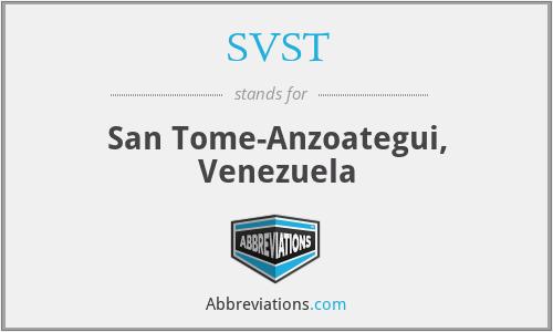 SVST - San Tome-Anzoategui, Venezuela