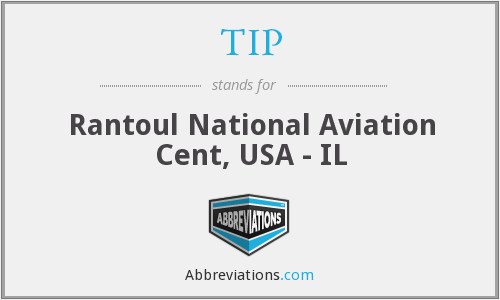 TIP - Rantoul National Aviation Cent, USA - IL