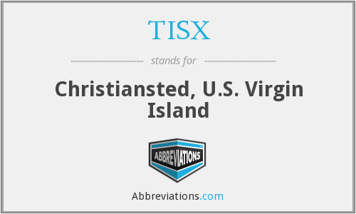 TISX - Christiansted, U.S. Virgin Island