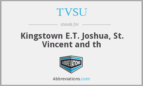 What does TVSU stand for?