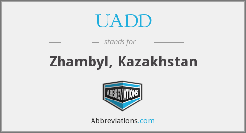 What does UADD stand for?