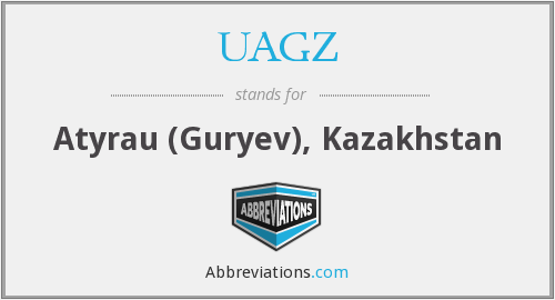 What does UAGZ stand for?