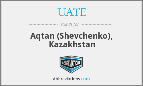 What does UATE stand for?