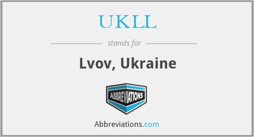 UKLL - Lvov, Ukraine