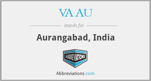 VAAU - Aurangabad, India