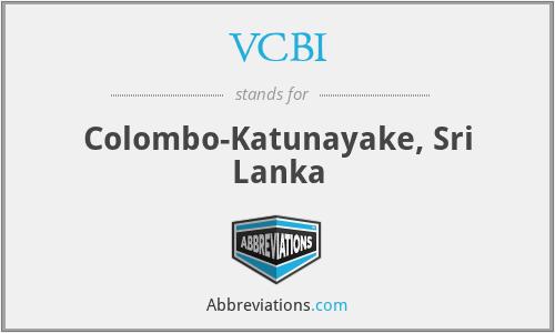 VCBI - Colombo-Katunayake, Sri Lanka