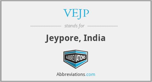VEJP - Jeypore, India
