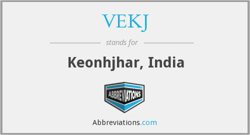 What does VEKJ stand for?