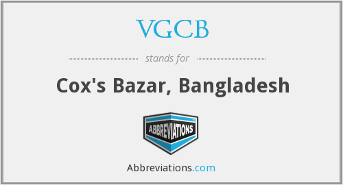 What does VGCB stand for?