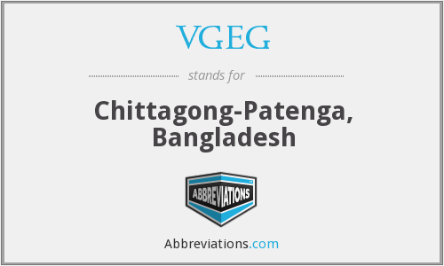 What does VGEG stand for?