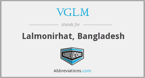 What does VGLM stand for?