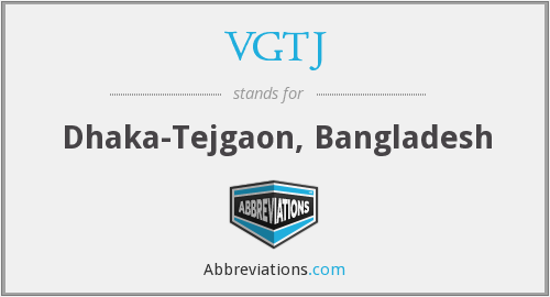 What does VGTJ stand for?