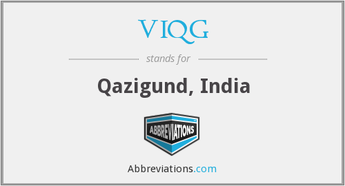 What does VIQG stand for?