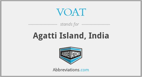 VOAT - Agatti Island, India