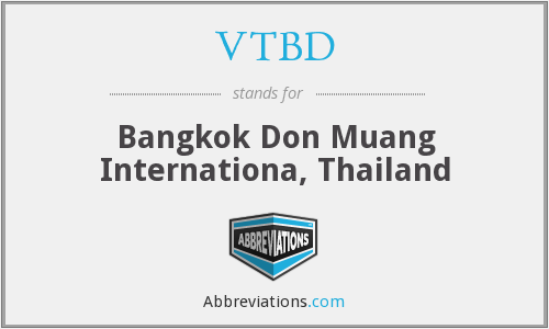 What does VTBD stand for?