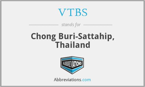 VTBS - Chong Buri-Sattahip, Thailand