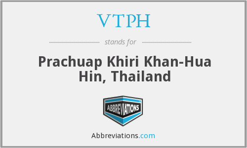 What does VTPH stand for?