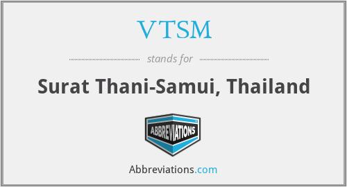 VTSM - Surat Thani-Samui, Thailand