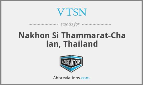 VTSN - Nakhon Si Thammarat-Cha lan, Thailand