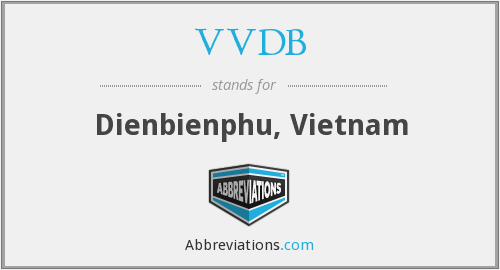 What does VVDB stand for?