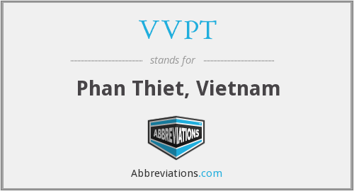 What does VVPT stand for?