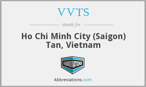 VVTS - Ho Chi Minh City (Saigon) Tan, Vietnam
