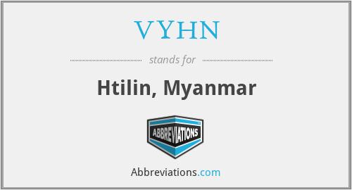 VYHN - Htilin, Myanmar