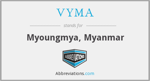 What does VYMA stand for?
