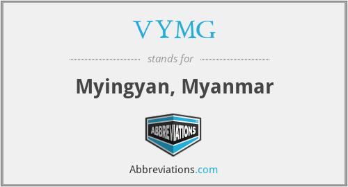 VYMG - Myingyan, Myanmar