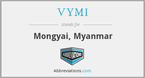 What does VYMI stand for?