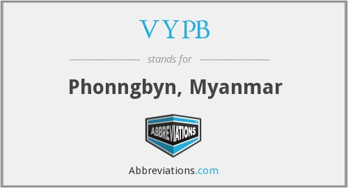 What does VYPB stand for?