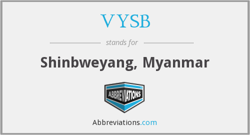 What does VYSB stand for?