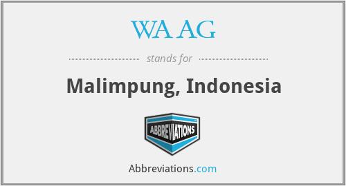 WAAG - Malimpung, Indonesia