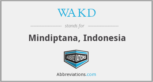 What does WAKD stand for?