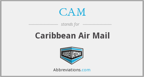 CAM - Caribbean Air Mail
