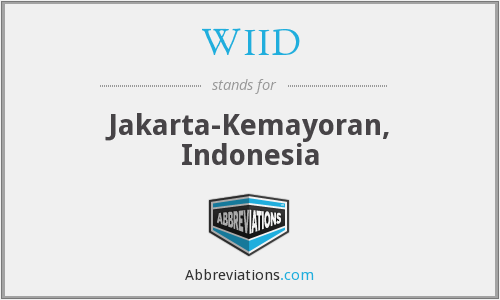 WIID - Jakarta-Kemayoran, Indonesia