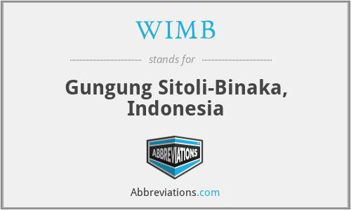 WIMB - Gungung Sitoli-Binaka, Indonesia
