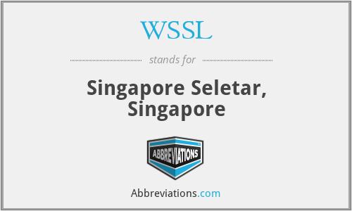 WSSL - Singapore Seletar, Singapore