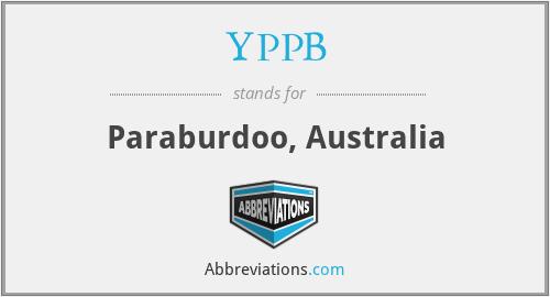 YPPB - Paraburdoo, Australia