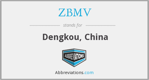 What does ZBMV stand for?