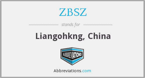 ZBSZ - Liangohkng, China