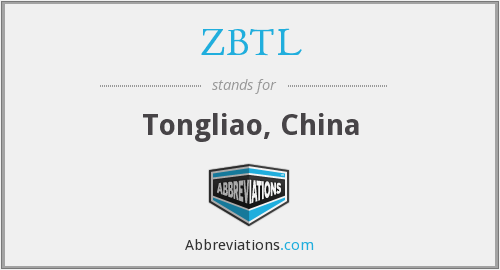 ZBTL - Tongliao, China