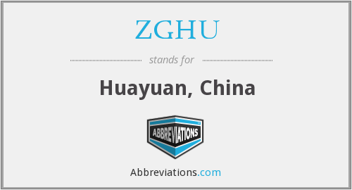 What does ZGHU stand for?