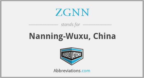 ZGNN - Nanning-Wuxu, China