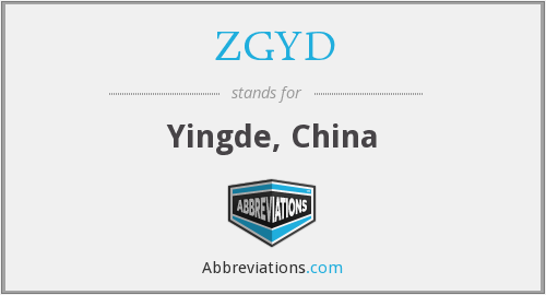 What does ZGYD stand for?